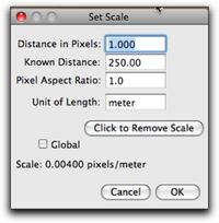 set scale 250m