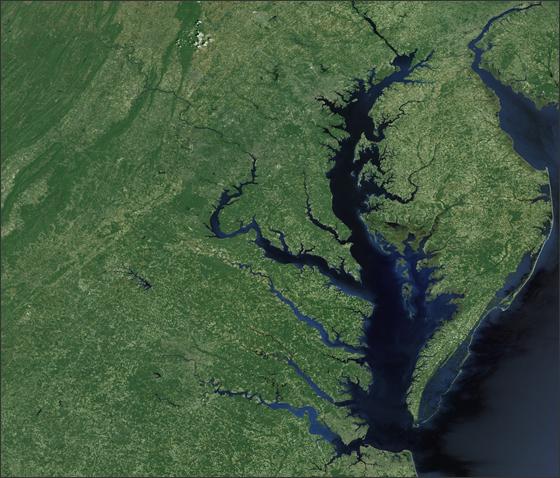 Using Giovanni To Study Chesapeake Bay