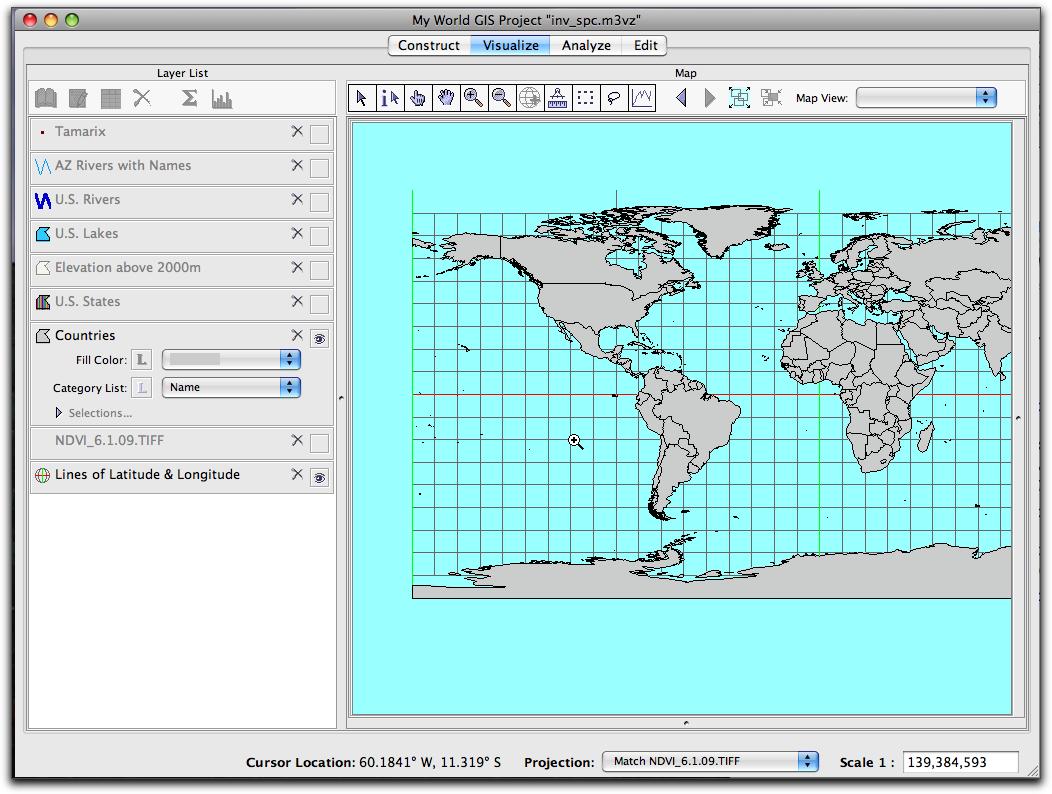 Laude Longitude Us Map Intro To My World