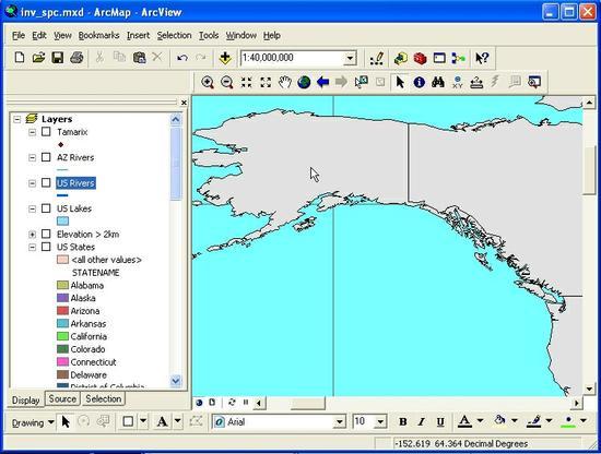 Coordinates Neg or Positive Alaska