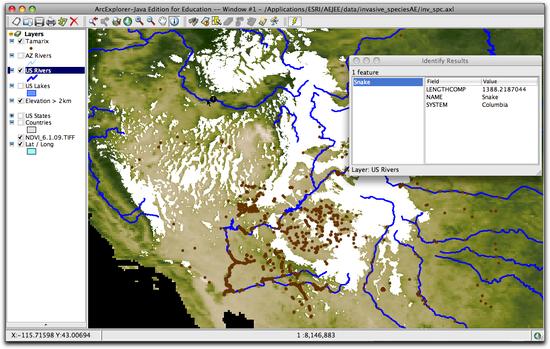 identifying snake river