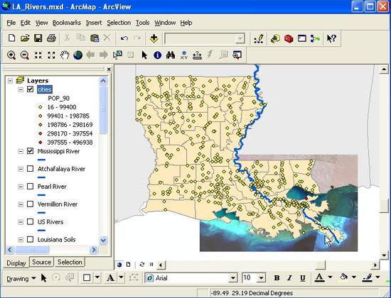 3 Louisiana Equal Interval