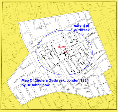 Cholera Map John Snow