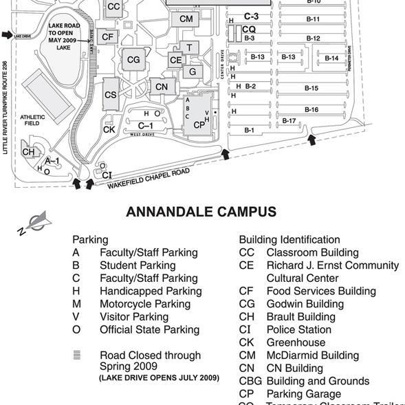annandale nova campus map Logistics annandale nova campus map