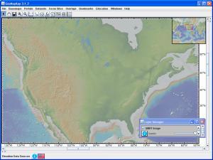 GeoMapApp view of North America