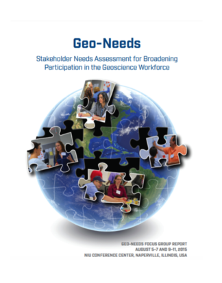Geo-Needs Report Cover