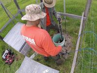 Tiltmeter installation on Mauna Loa volcano