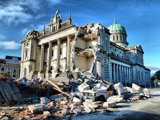 Christchurch damage
