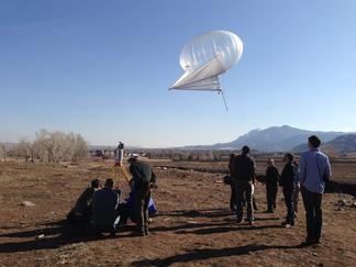 A heli-kite