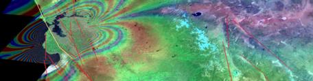 San Andreas Fault LIDAR