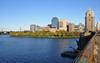 Charles river in Boston, MA