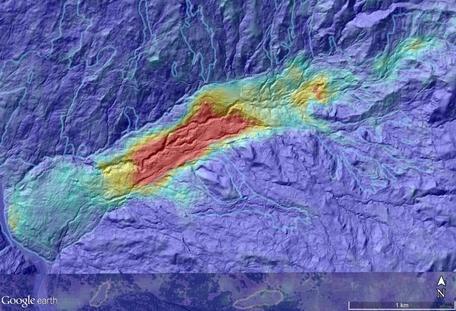 InSAR landslide