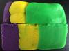 Play-Doh model of vertically-faulted block