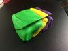 Play-Doh model of reverse fault, prior to erosion