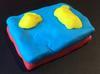 Play-Doh model of erosional remnants