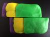Play-Doh model of a sinistral fault, map view