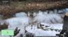 Ice wedging in action, Parfrey's Glen, Wisconsin