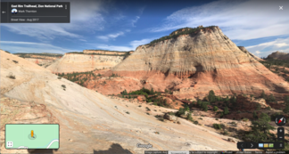 Cross-bedded sandstone, Zion National Park
