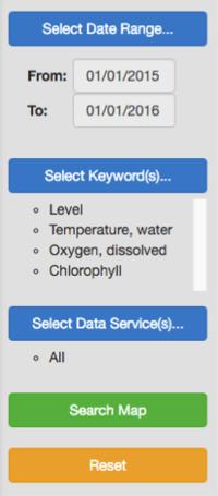 HydroClient menu