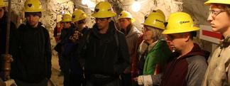 Students Tour a Mine