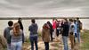 Sustainability & Society students on a field trip to the Santee Sioux Reservation on the Missouri River