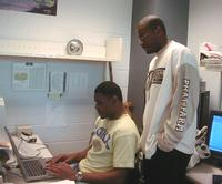 JSU Students in the Meteorology Lab