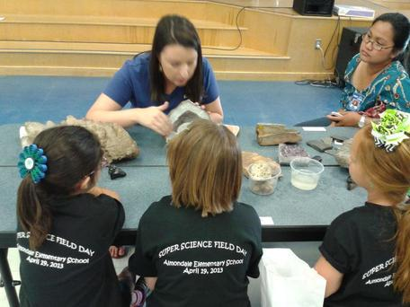 Students active in K-12 outreach activities