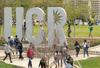 UCR campus sign