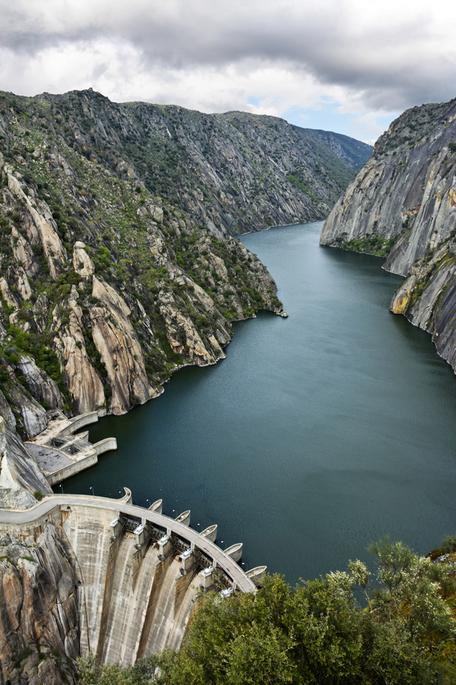Dam in the American West