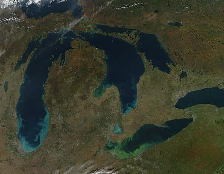 The Great Lakes After a Storm (2011)