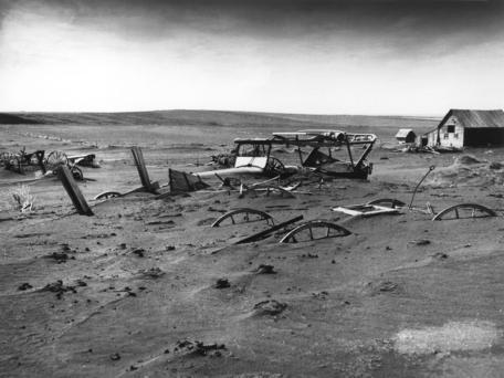 South Dakota Farm During the Dust Bowl