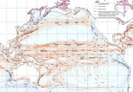 Pacific Ocean currents