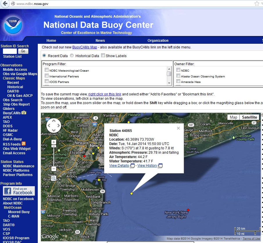 Case Study 1: Geography & Sea Level Change in New York City