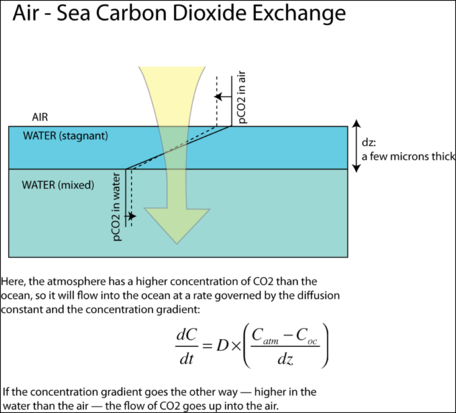 air-sea C exchange