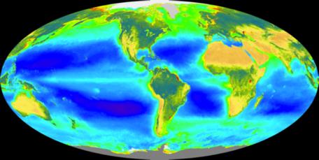 global chlorophyll