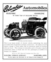 Electric Car 1901