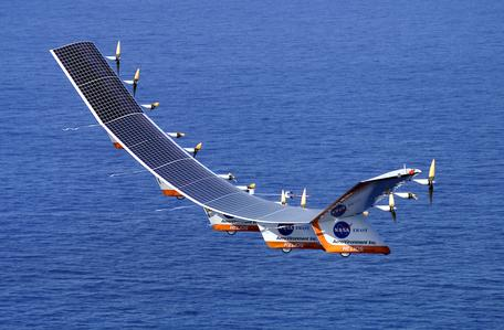 Helios Prototype, solar-powered aircraft