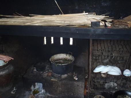 Kitchen in Bali