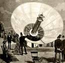 Mouchot's solar-powered steam engine