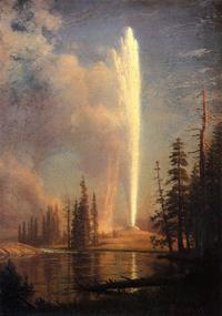Old Faithful Painting