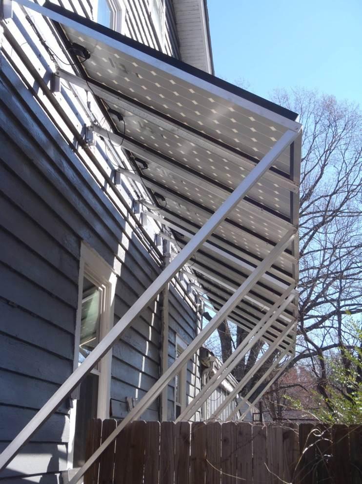 Pv Array Solar Awning Jpg