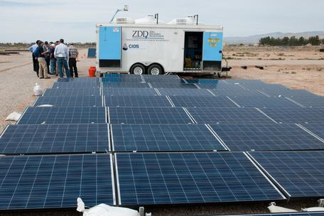 Portable solar desalination plant