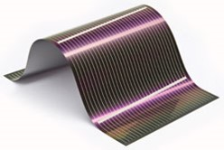 Thin film PV in flexible panel