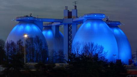 Methane Digesters at Wastewater Plant