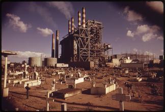 Palo Seco Electric Plant near San Juan, Puerto Rico.