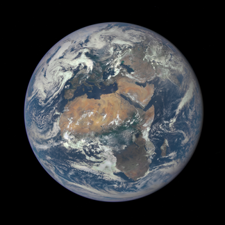 Earth from DSCOVR mission
