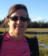 Laurel Goodell in Alaska, August 2013