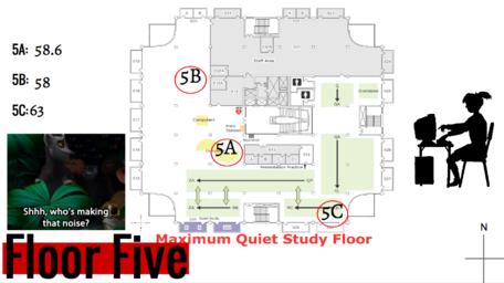 ISU Library Sensory Map