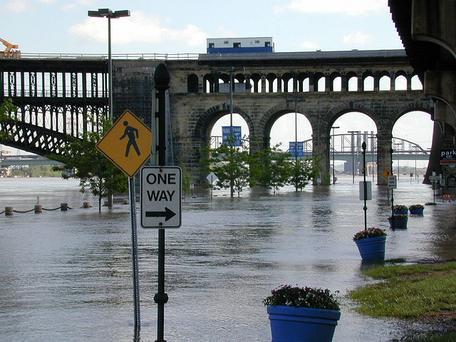 Mississippi River Flood, May 2002