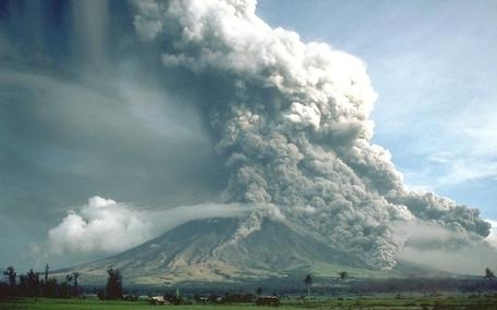 Mayon eruption